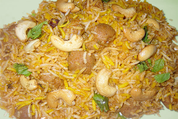 soya biryani in hindi