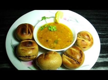 Dal Bati recipe in hindi